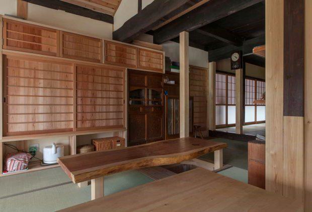 古民家リノベーション木造建築家建具