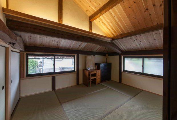 古民家リノベーション木造建築家間接照明1