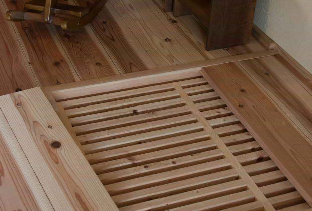 古民家リノベーション木造建築家薪ストーブ採暖すのこ