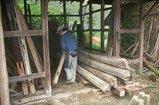 上郡-3-解体木材