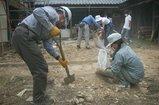 上郡-3-解体した壁土
